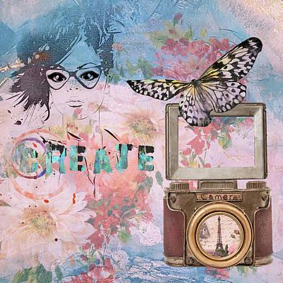 Digital Art - Create by Marilyn Wilson