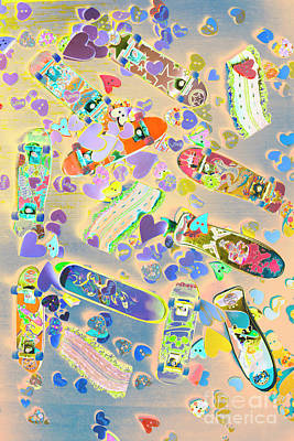 Pop Art Royalty-Free and Rights-Managed Images - Creative skate by Jorgo Photography - Wall Art Gallery
