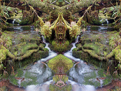 Photograph - Creek Spirits #1 by Ben Upham III