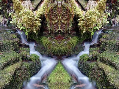 Photograph - Creek Spirits #2 by Ben Upham III