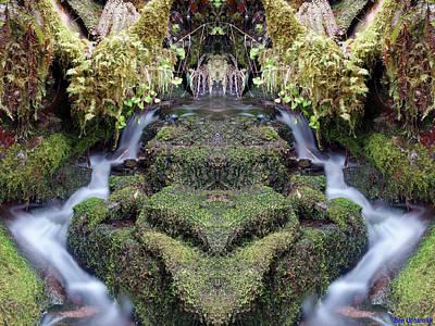 Photograph - Creek Spirits #3 by Ben Upham III