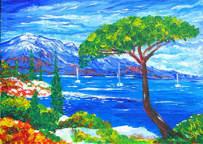 Painting - Creeks of Marseilles by Marianna MO Warr