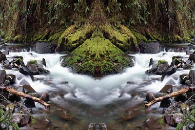 Photograph - Creekscene #1 by Ben Upham III