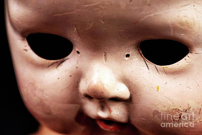 Photograph - Creepy Dead Eyes by John Rizzuto