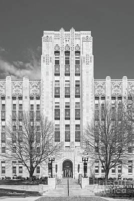 Photograph - Creighton University Creighton Hall by University Icons