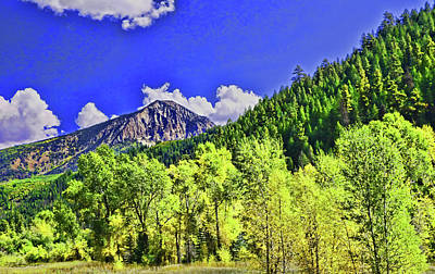 Photograph - Crested Butte by Allen Beatty