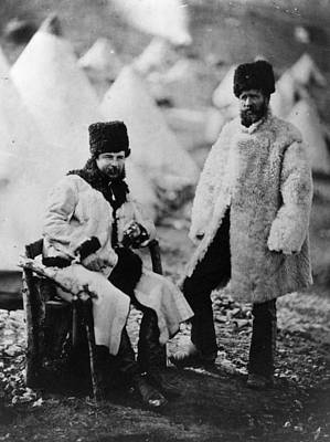 Photograph - Crimean Winter Wear by Roger Fenton