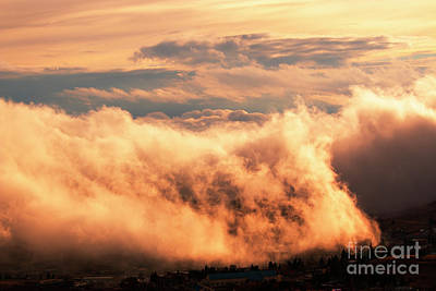 Photograph - Cripple Creek Fog by Steve Krull