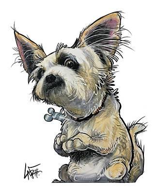 Drawing - Criscione 5099 by John LaFree