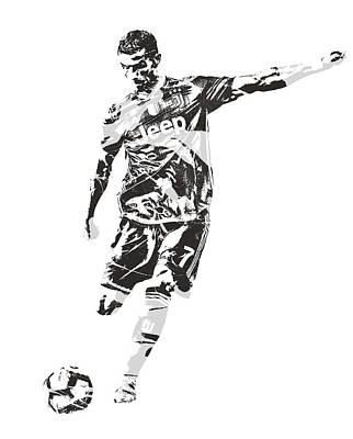 Cristiano Ronaldo Art Prints Fine Art America