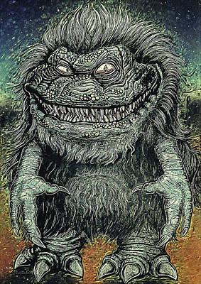 Monster Ufo Wall Art - Digital Art - Critters by Zapista Zapista