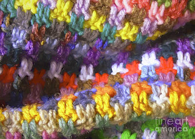 Mixed Media - Crochet by Susan Lafleur