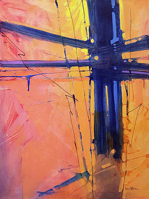 Painting - Cross Beaux by Dan Nelson