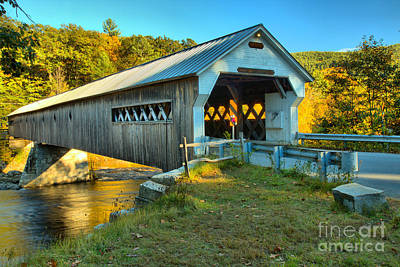 Photograph - Crossing The Vermont West River by Adam Jewell