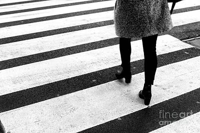 Photograph - Crossings Dominique New York City by John Rizzuto