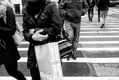 Photograph - Crossings Gallop New York City by John Rizzuto
