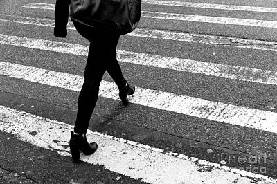 Photograph - Crossings In Style New York City by John Rizzuto