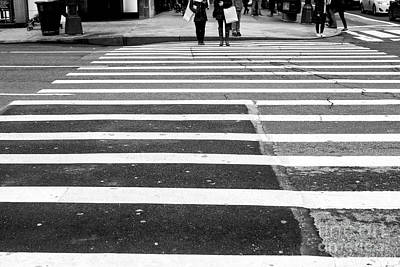 Photograph - Crossings Long Way To Go New York City by John Rizzuto
