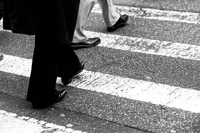 Photograph - Crossings Pointed Shoes New York City by John Rizzuto