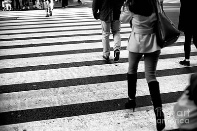 Photograph - Crossings Thigh Boots New York City by John Rizzuto