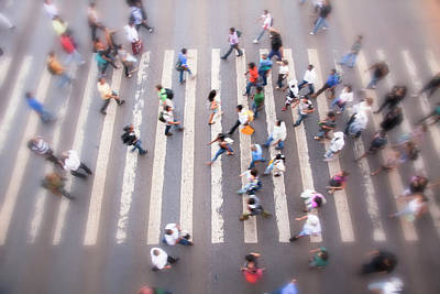 Photograph - Crosswalk by Brasil2