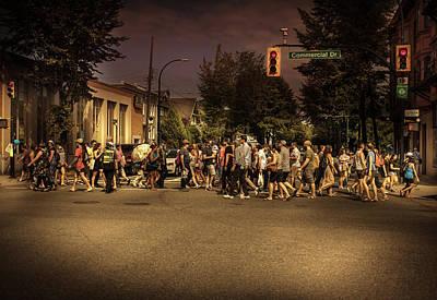 Photograph - Crosswalk by Juan Contreras