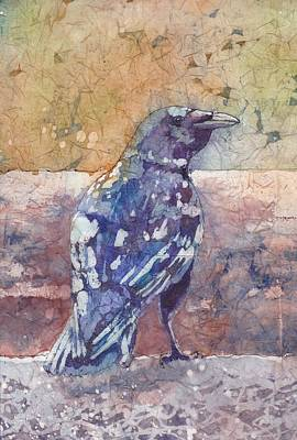 Painting - Crow by Ruth Kamenev