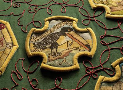 Photograph - Crow Textile by Jean Noren