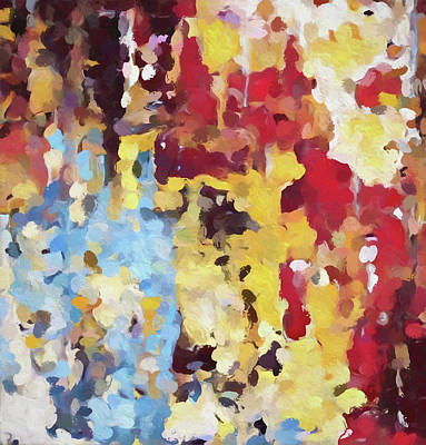 Painting - Crowd by Dan Sproul