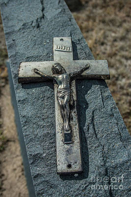 Photograph - Crucifix by Tony Baca