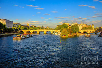 Photograph - Cruise On Seine River by Benny Marty