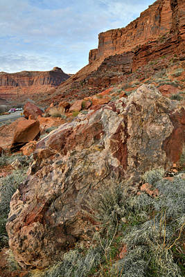 Photograph - Cruising Scenic Byway 128 In Utah by Ray Mathis