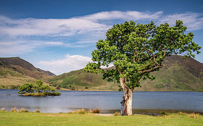 Photograph - Crummock Water View by Framing Places