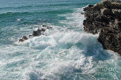 Photograph - Crushing Waves In Porto Covo by Angelo DeVal