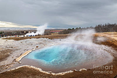 Go For Gold - Crystal Blue Hot Spring by Jamie Pham