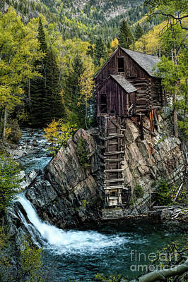 Photograph - Crystal Mill by Joe Sparks