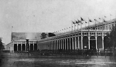 Hyde Park Wall Art - Photograph - Crystal Palace by Hulton Archive