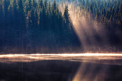 Photograph - Crystal Rays by Evgeni Dinev