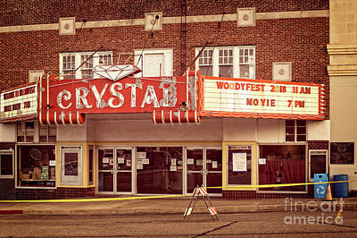 Photograph - Crystal Theater by Imagery by Charly