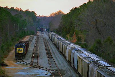 Photograph - Csx In Catawba 21 by Joseph C Hinson Photography