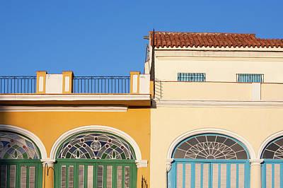 Balcony Photograph - Cuba, Ciudad De La Habana Province by Escudero Patrick / Hemis.fr