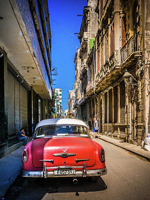Photograph - Cuba Classic Car  by William Shevchuk