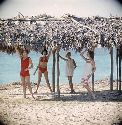 Photograph - Cuban Fashion by Gordon Parks