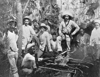 Cuban Rebels Art Print by Hulton Archive