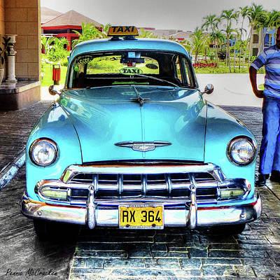 Cuban Taxi Art Print
