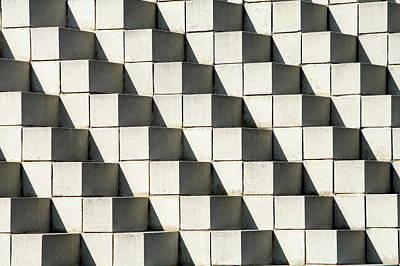 Photograph - Cube Geometric Pattern by Vicky Padgett