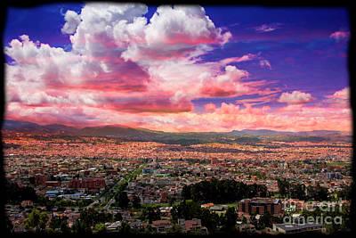 Photograph - Cuenca, From Turi by Al Bourassa