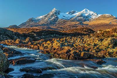 Photograph - Cuillin Hills, Sligachan, Skye by David Ross