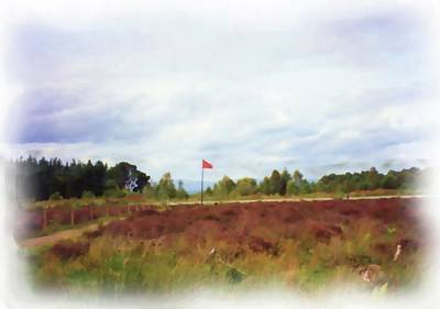 Digital Art - Culloden Battlefield Painting by JLowPhotos
