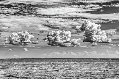 Photograph - Cumulus Trio by Erich Grant